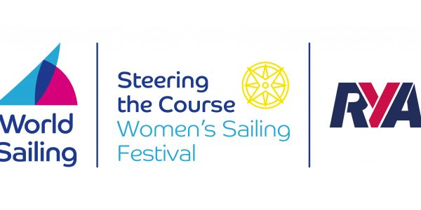 World Sailing RYA and Steering the Course logo